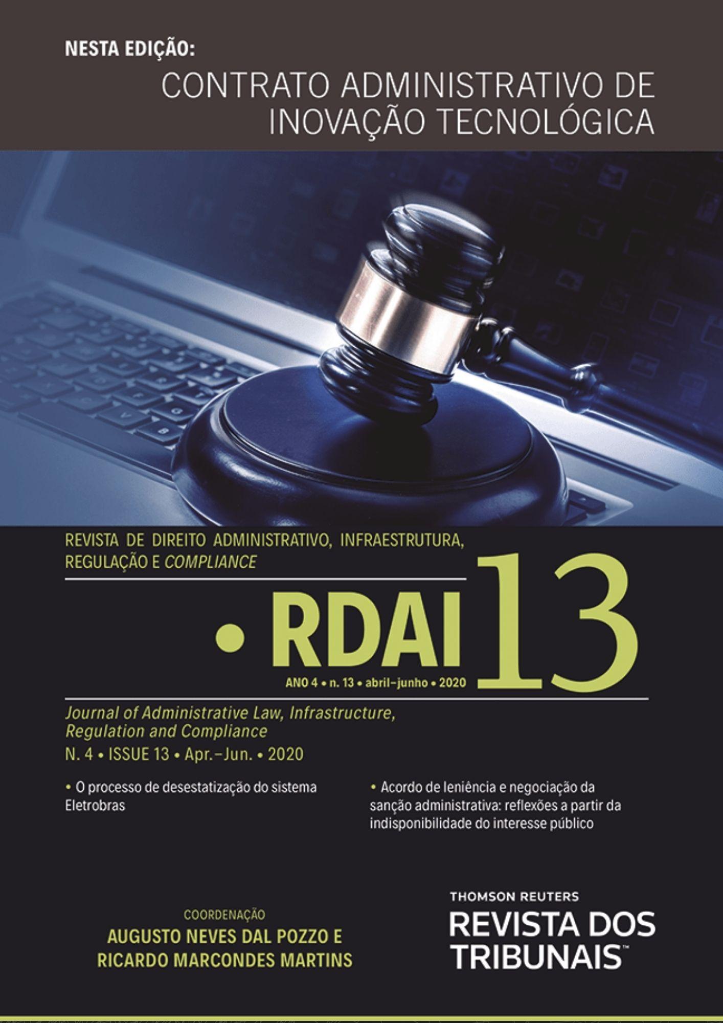 Capa RDAI 13 abril junho 2020